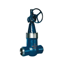 Introduce pound grade gate valve for high-temp,high voltage power station